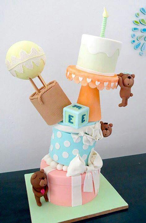 I Fell For The Tiny Teddy Bears Lol Cute Birthday Cake Fancy