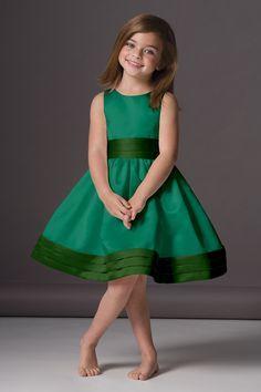 emerald green flower girl dresses - Google Search | wedding fun ...