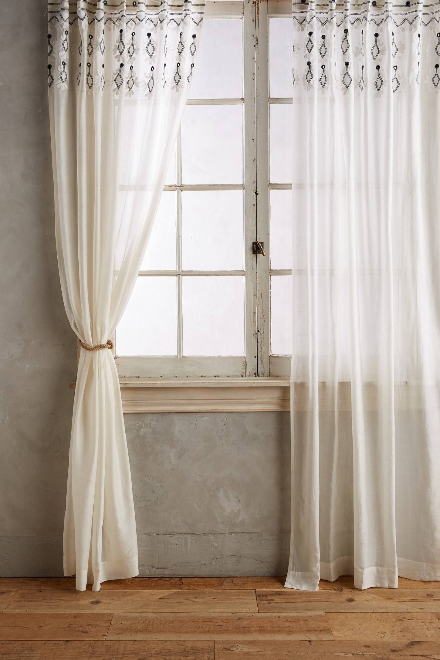 Smithery Curtain Rod Curtains White Curtains Bedroom Country