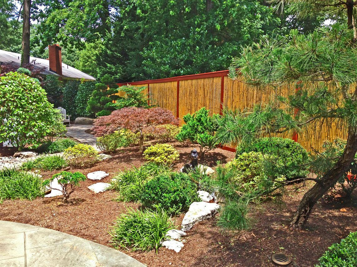 Japanese garden backyard landscape design hardscape and for Japanese landscaping ideas