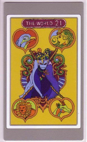 Amazoncom Jojos Bizarre Adventure Abc Tarot Card Edition