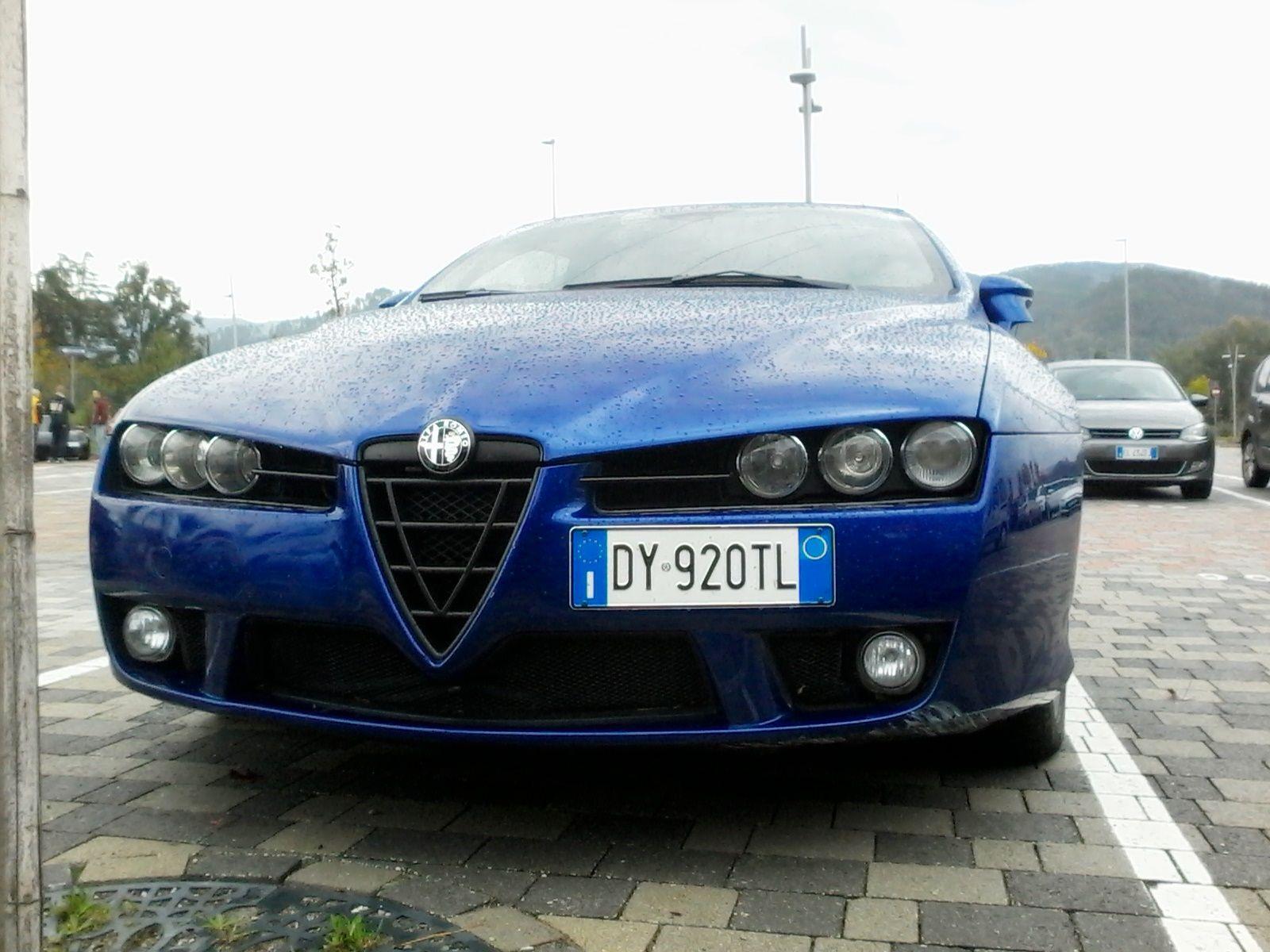 Alfa Romeo Spider 939 raduno Brugnato e Chiavari 09 10 2016