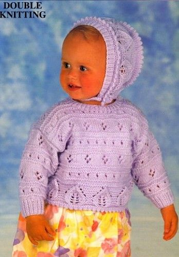 Patons Knitting Patterns for Baby | Baby knitting patterns ...