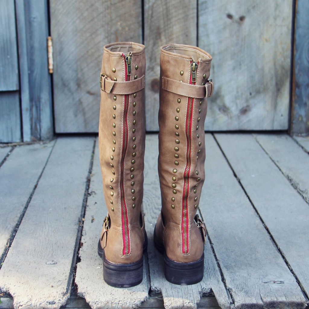 The Stevie Boots, Sweet & Rugged boots from Spool No.72 | Spool No.72