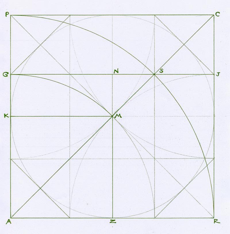 Mark A Reynolds - octagon in square, after Da Vinci - http ...