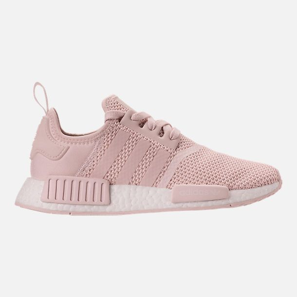 092ef649f86508 Right view of Women s adidas NMD R1 Casual Shoes in Orchid Tint Orchid Tint  White