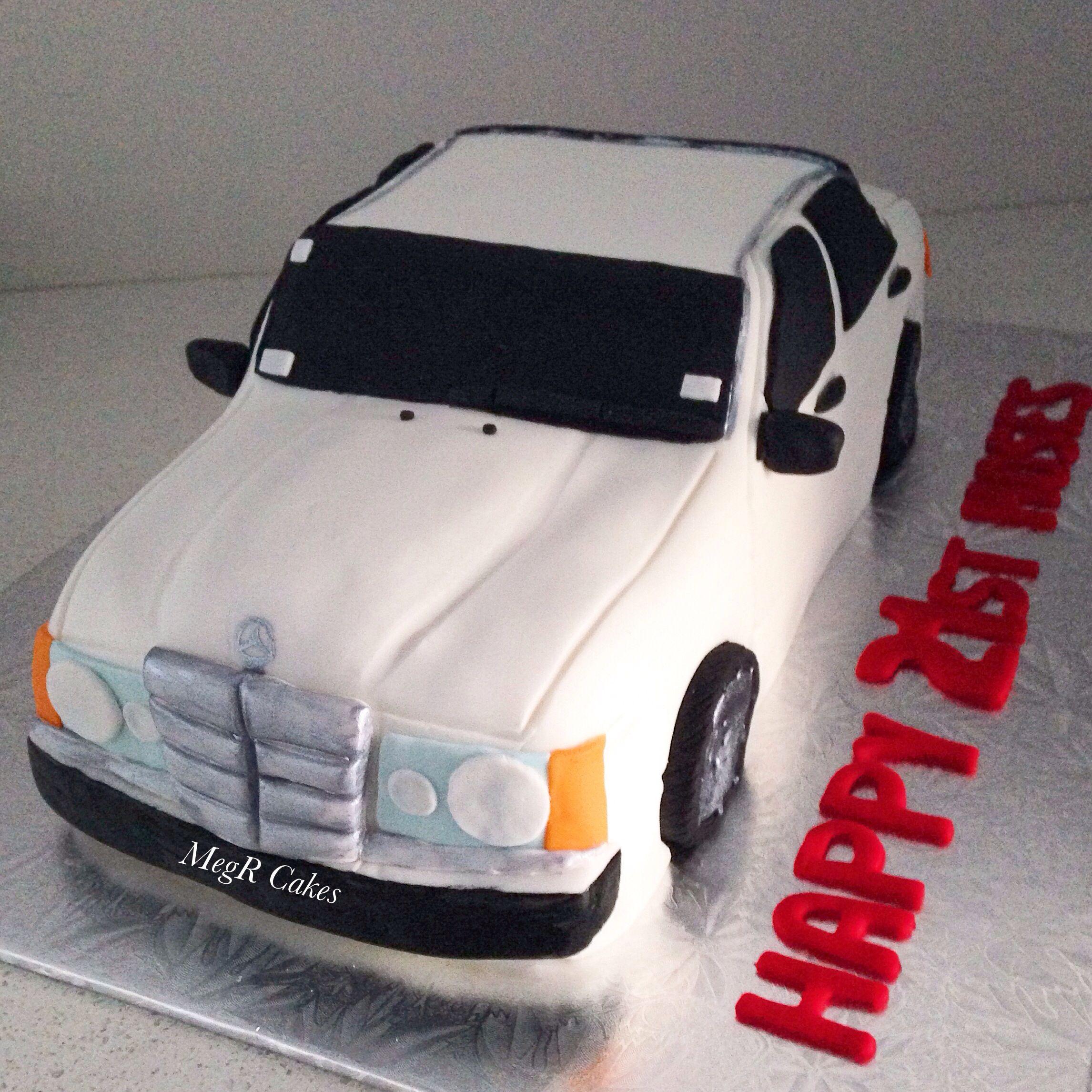 Mercedes cake Cakes I ve made Pinterest