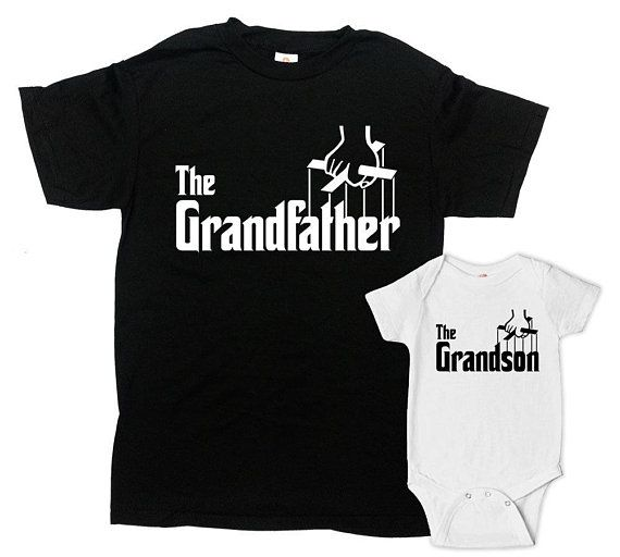 c6cb6a68f Matching Family Outfits Grandpa And Grandson Shirts Matching T ...