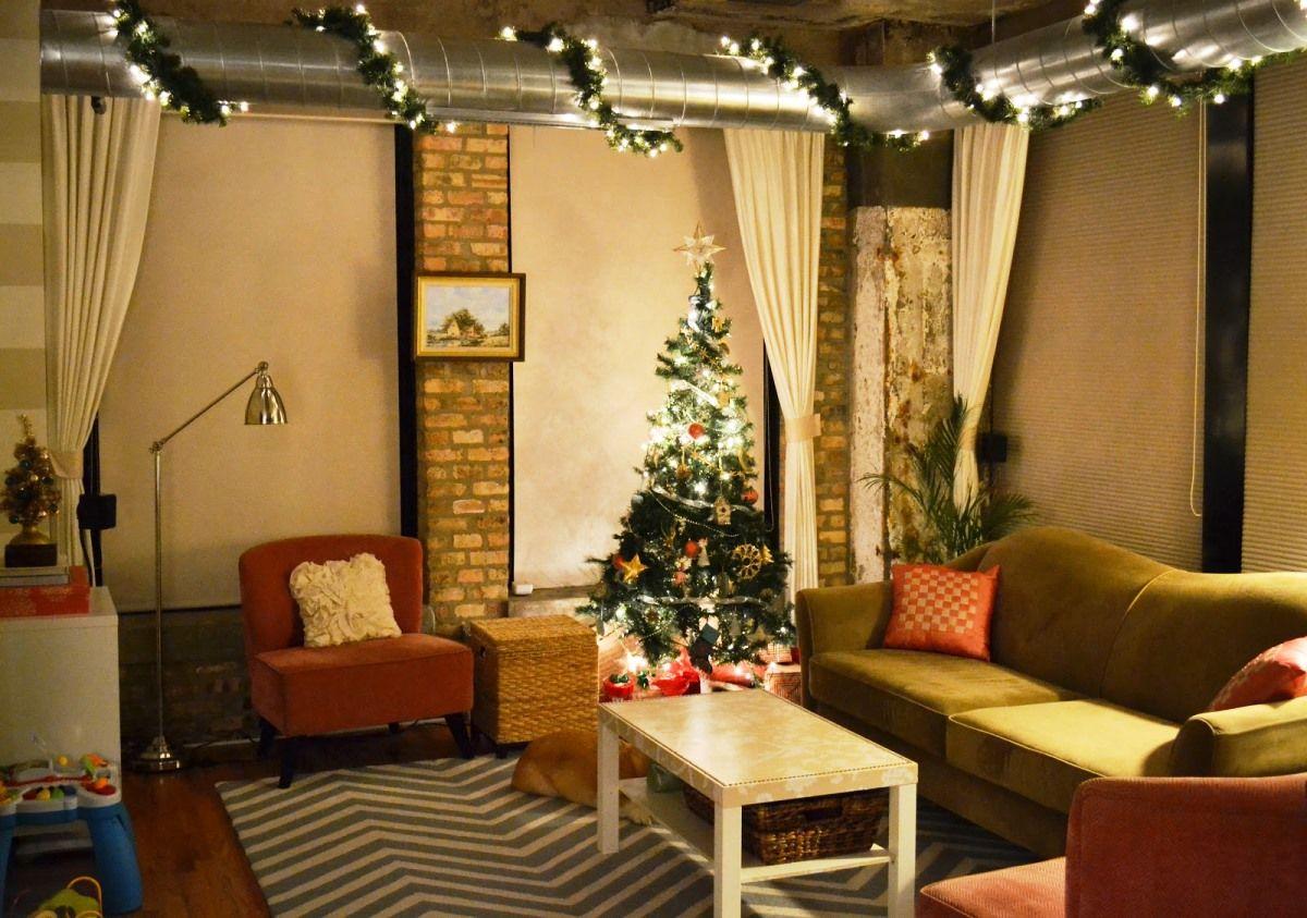 christmas living room designs house decor - Christmas Living Room Decorating Ideas