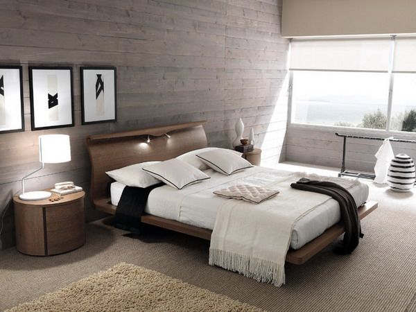 Best Contemporary Bedroom Ideas With Brown Platform Bed 640 x 480
