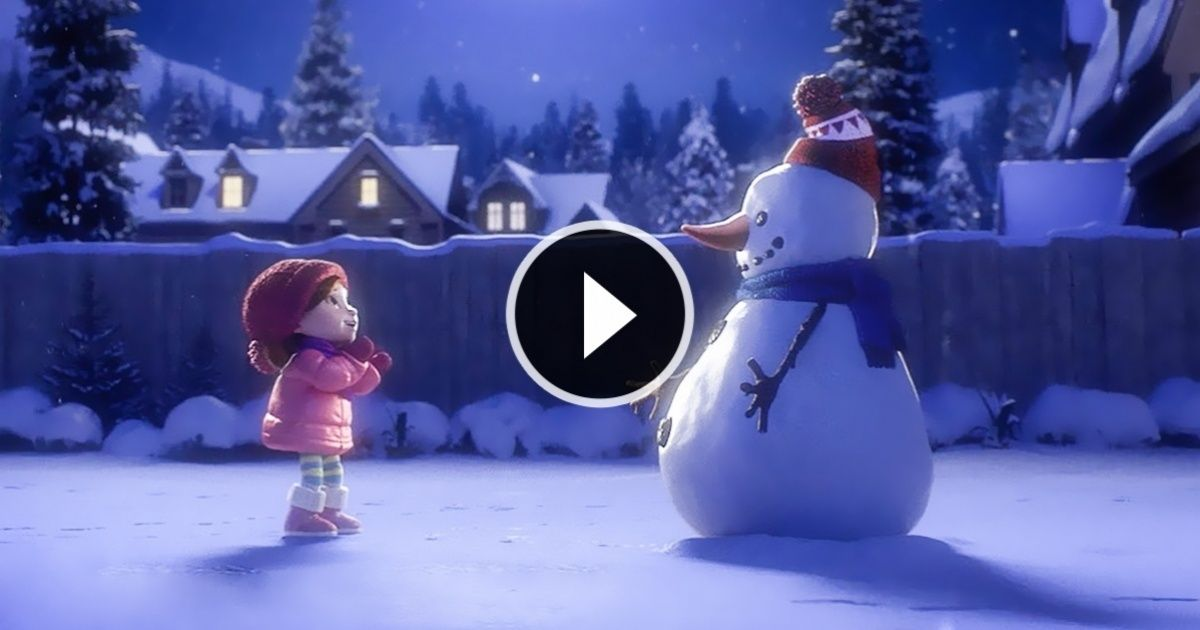 A short Christmas film about an endless friendship | Pinterest ...