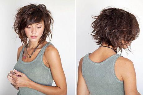 Coupe cheveux carré plongeant dégradé Coupe de cheveux