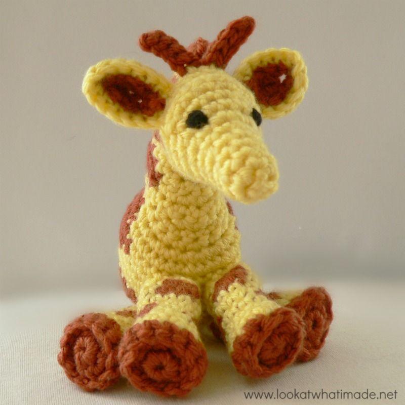 Free Crochet Giraffe Pattern   Amigurumi   Pinterest   Kuscheltiere ...