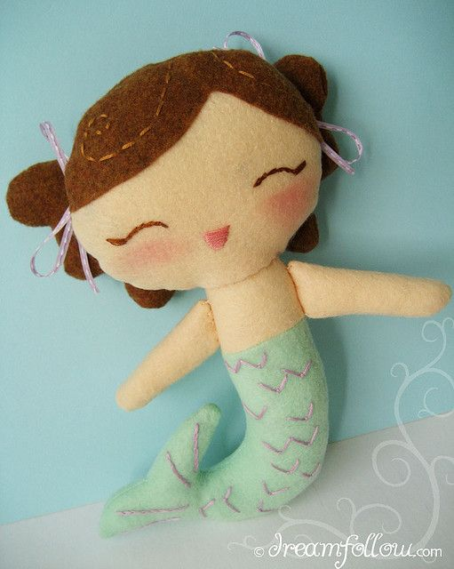 little mermaid by merwing✿little dear, via Flickr | *GOod IDeAs ...