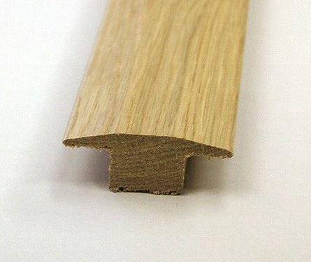 15mm Solid Oak T Bar 2 35m Long Just 39 95 Each Free Delivery Solid Oak Oak Flooring
