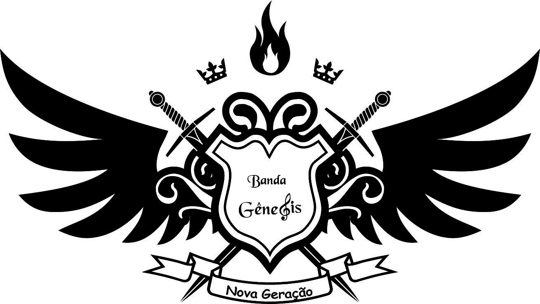 Michele Freitas Artes: Logo Banda Gênesis