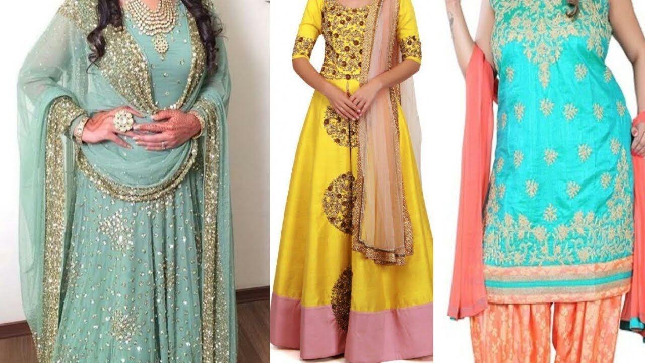 Plus Size Anarkali Gown Dresses For Women Stylish Designs 2020 Long Ku In 2020 Womens Dresses Designer Dresses Stylish Women,Small Space Small Beauty Salon Design Ideas