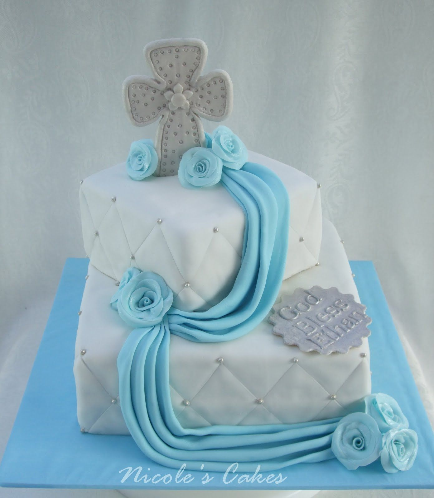 Confections Cakes Amp Creations Christening Baptism Cake