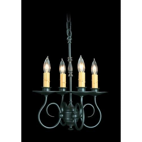 Framburg fr 1314 4 light mini candle chandelier from the roanoke framburg fr 1314 4 light mini candle chandelier from the roanoke collection grey charcoal aloadofball Choice Image