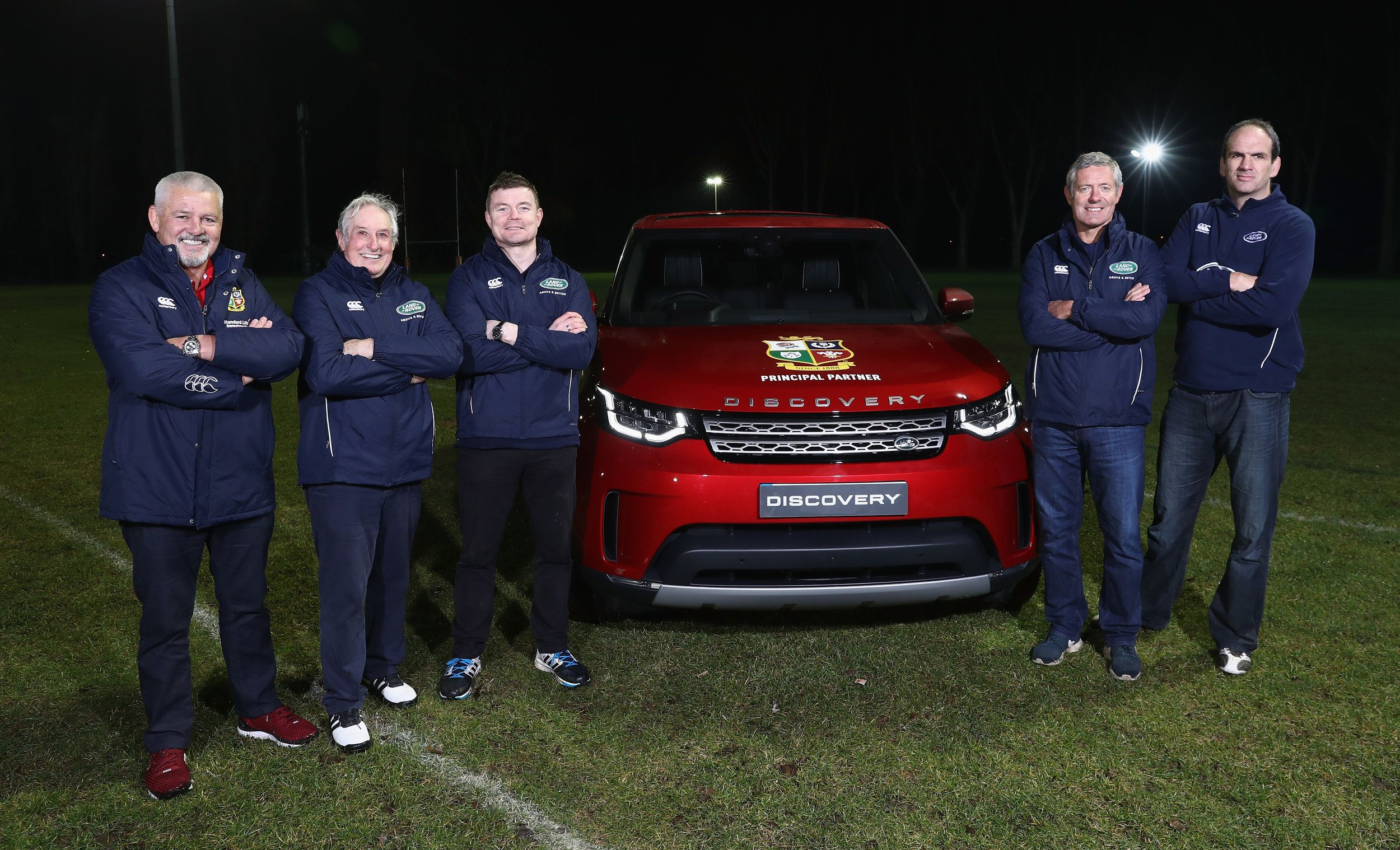 LAND ROVER AND GATLAND ON THE HUNT FOR GRASSROOTS LIONS FANS