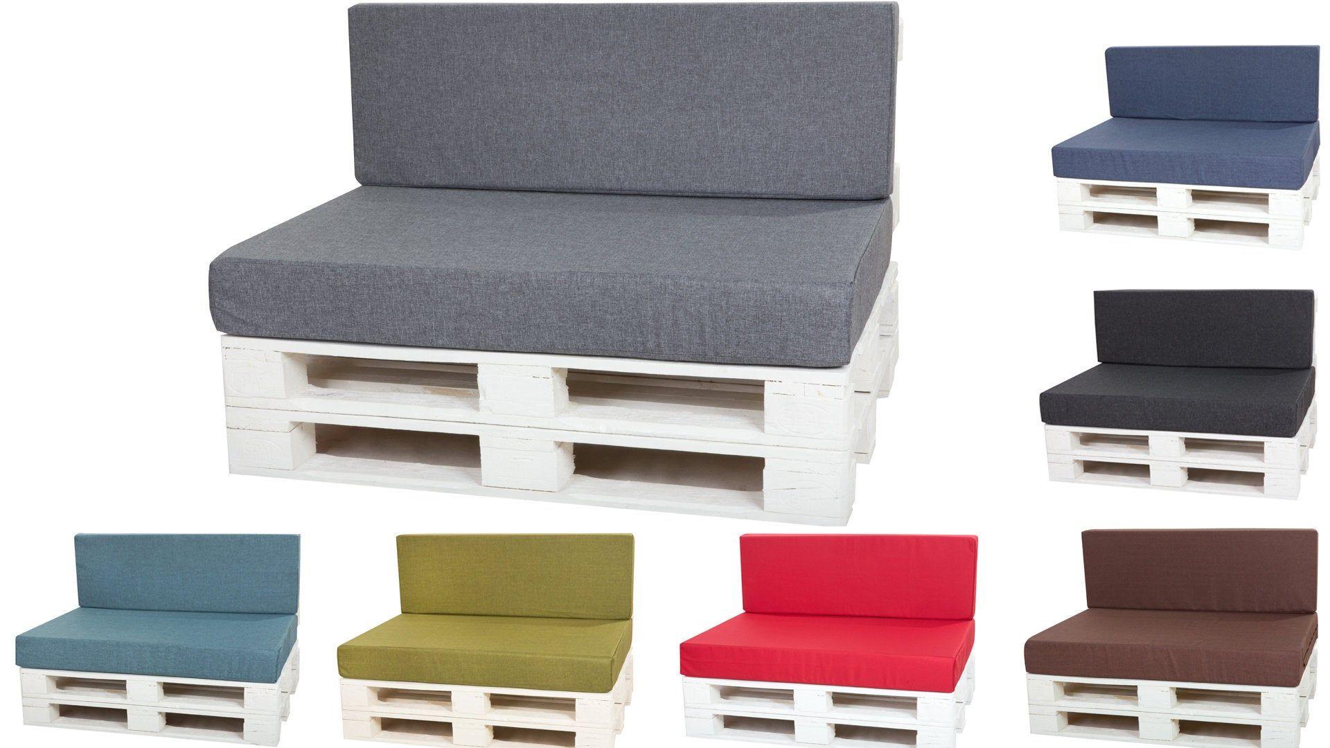 Palettenkissen Auflage Set Für Europaletten Palettenkissen Outdoor Palettenpolster Palettensofa Kissen Mit Vi Pallet Cushions Cushions On Sofa Luxury Cushions