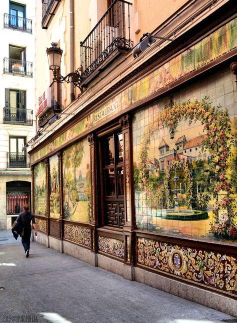 Restaurante Villa Rosa No Centro De Madrid Tablao De Flamenco