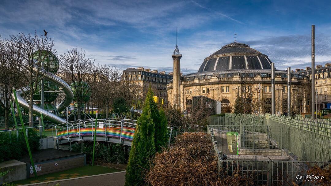 Agro Paris Bourse On Jardin Nelson Mandela Paris Travel Europe