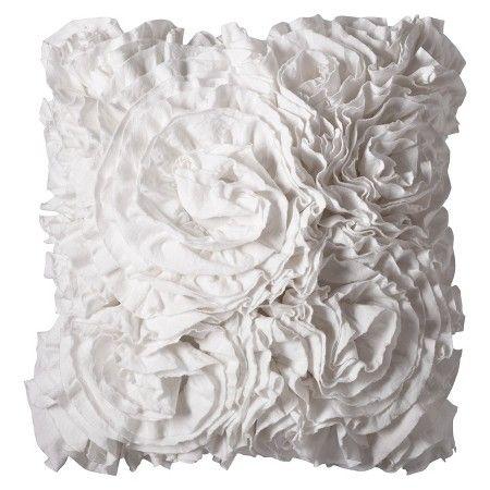 Xhilaration™ Jersey Ruffle Decorative Pillow Target Master Magnificent Decorative Pillows At Target