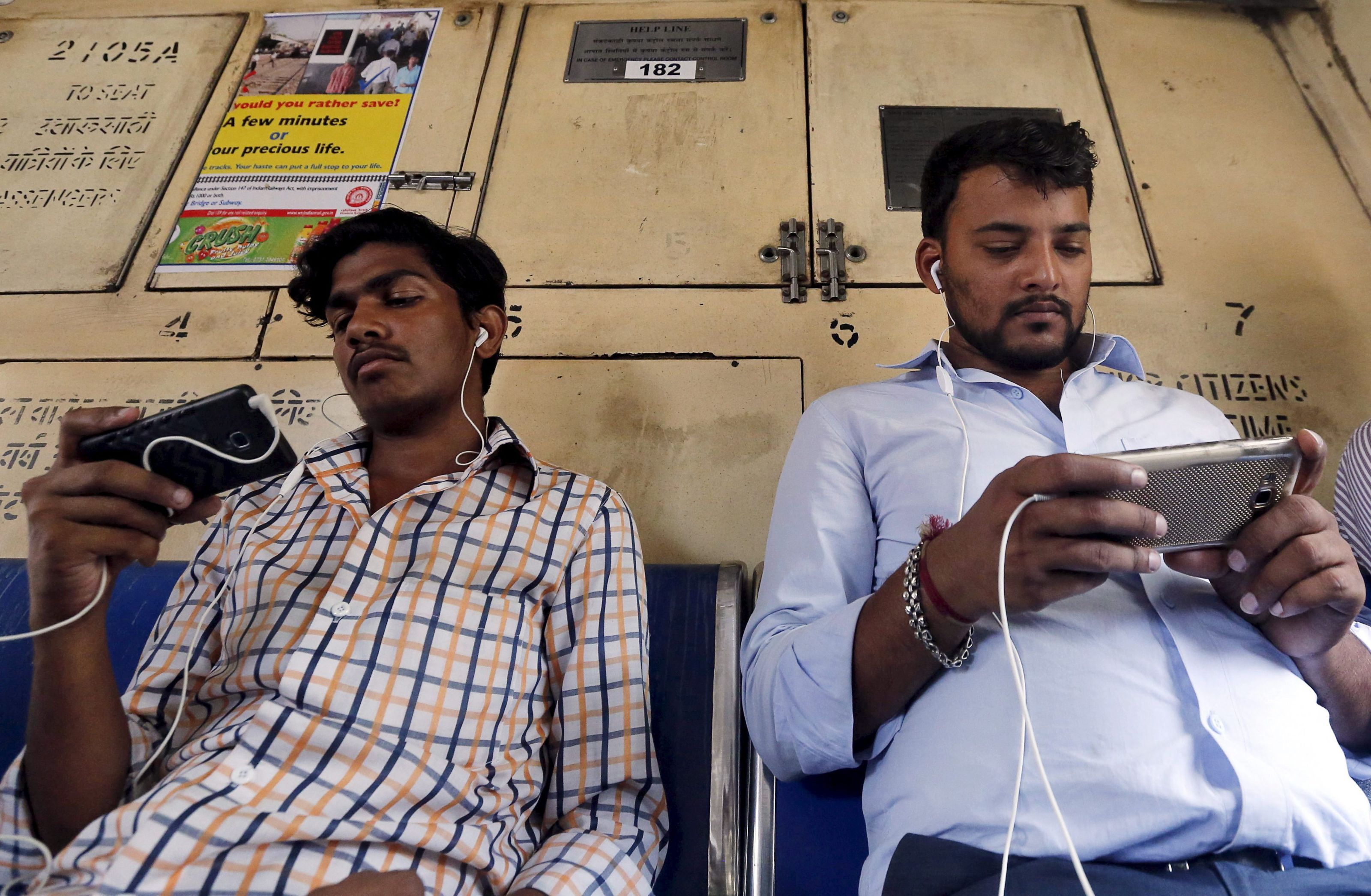 On trains, buses, and flights, Indians are watching Netflix ...