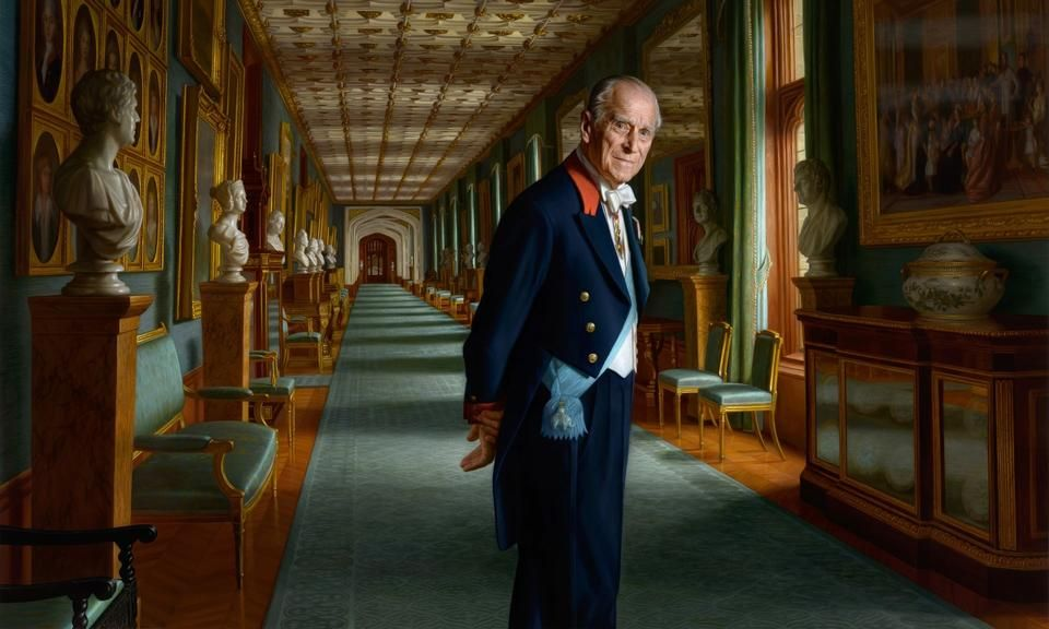 Britisk Prins Pynter Sig Med Danske Aner I Nyt Portraet Portraet Britisk Museum