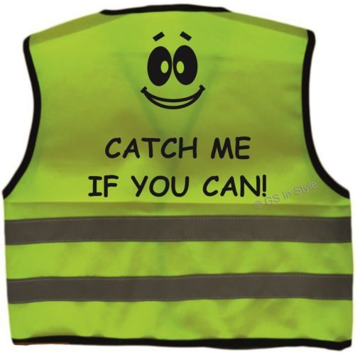 af6f2856bb4e Personalised Baby Toddler Yellow High Visibility Safety Vest Kids ...
