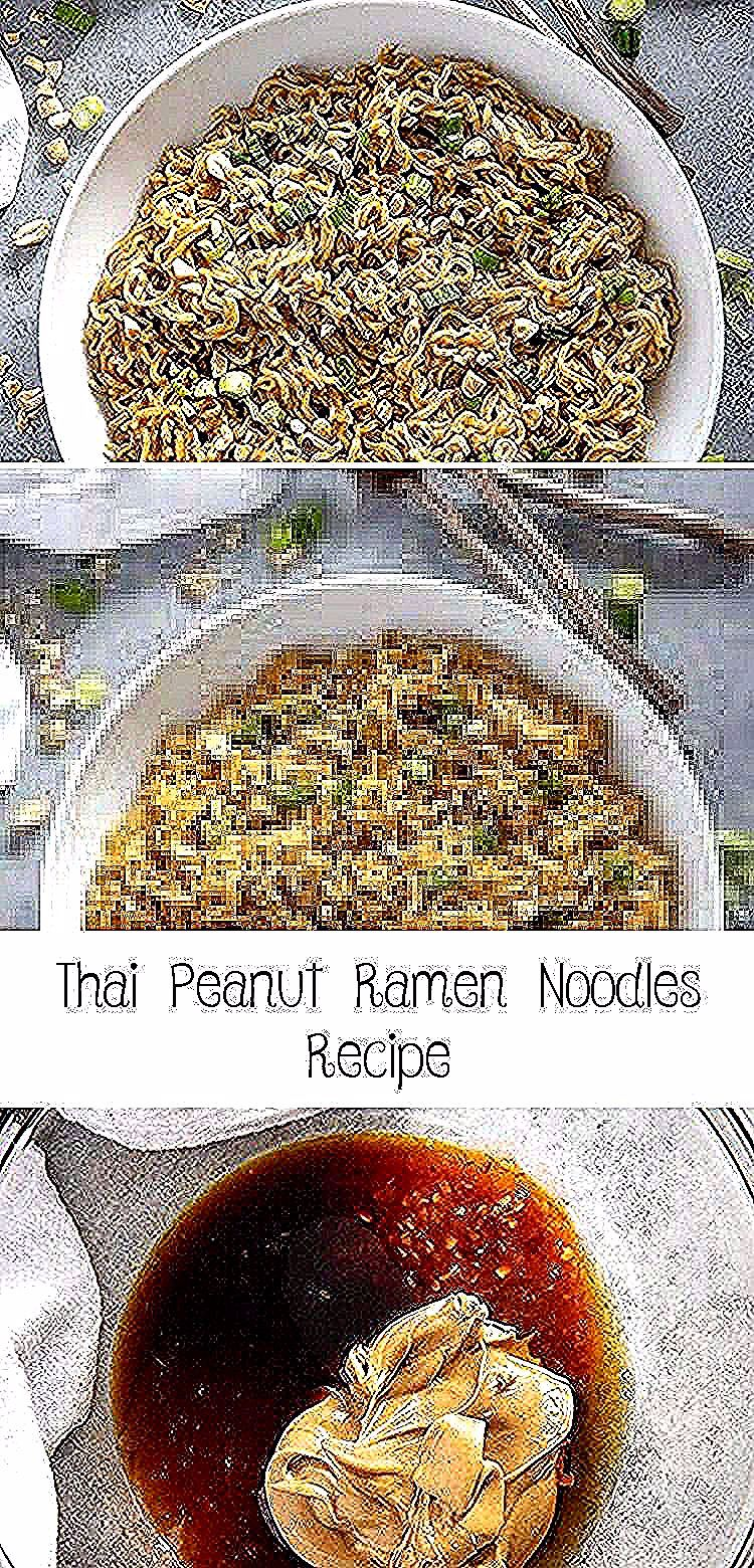 Thai Peanut Ramen Noodles gives instant ramen a makeover with a mouthwatering peanut sauce! This easy ramen noodles recipe is ready in ten minutes! #ramen #ramennoodles #ramennoodlerecipes #easydinnerrecipes #noodles #Quesadillarecipe #Lunchrecipe #Whole30recipe #Mexicanrecipe #PioneerWomanrecipe