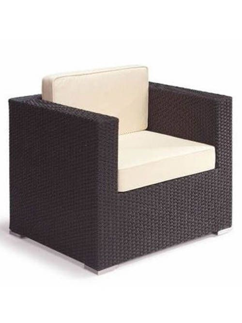 sofa-spacio-1-plaza-negro-mobiliario-ideal | Sillones para exterior ...