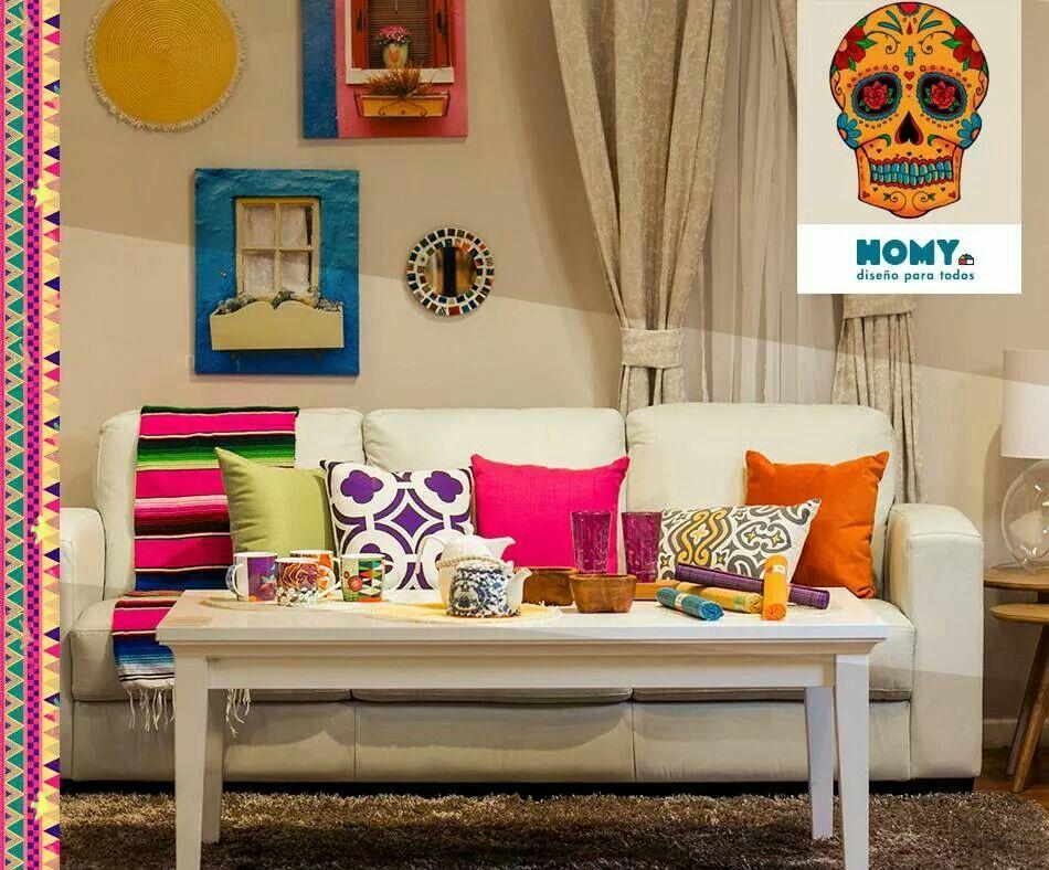 Homy estilo mexicano mexican deco for Decoracion de interiores estilo mexicano