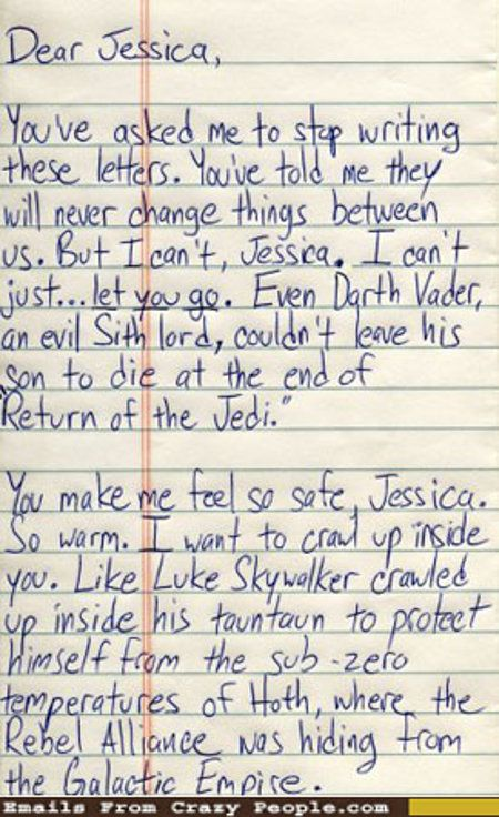 Geeky Love Letters