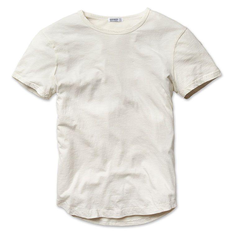 1699c6f453 White Sand Venice Wash Tee - Buck Mason