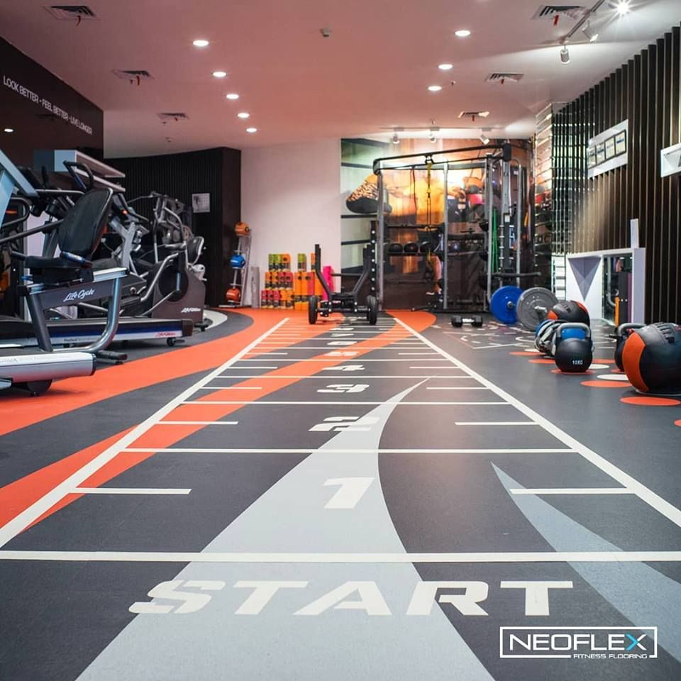 Neoflex 800 Series Fitness Flooring in PrimaFit's Life