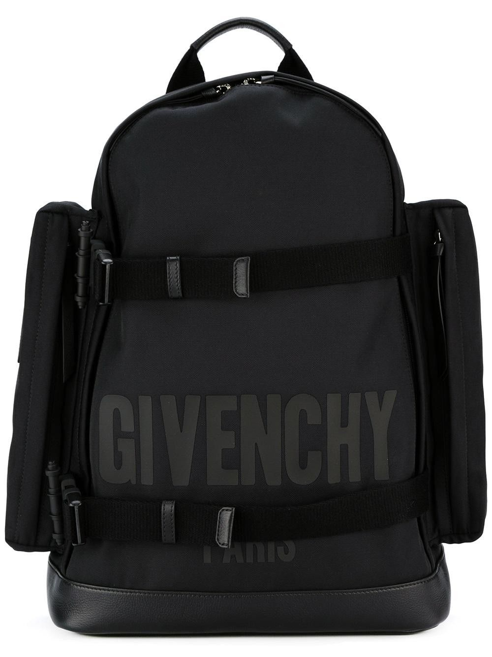 GIVENCHY Logo Print Backpack.  givenchy  bags  leather  lining  backpacks   cee6b4cf64825