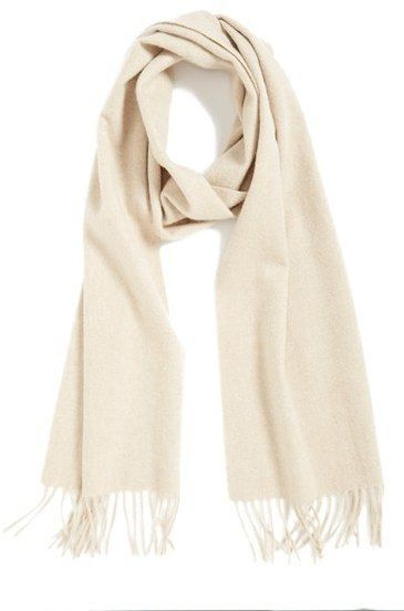 053f9e70e79bb $72, Nordstrom Solid Woven Cashmere Scarf. Sold by Nordstrom. Click for  more info