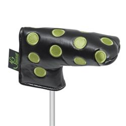 Dots Black and Lime Blade Putter