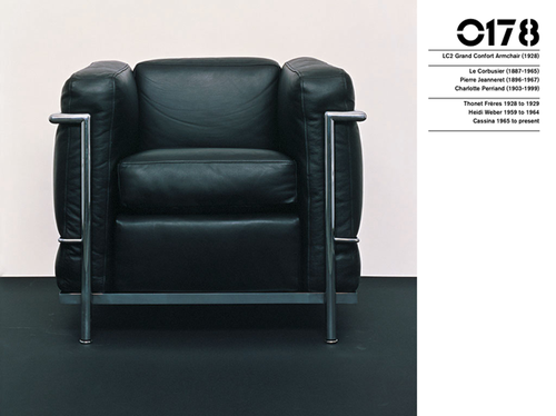 Le Corbusier, Pierre Jeanneret U0026 Charlotte Perriand Grand Confort, Model  LC2, 1928 THONET