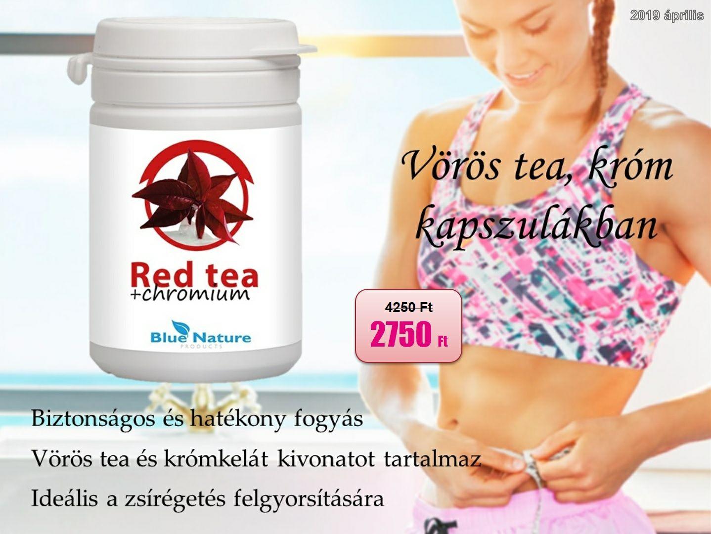 szépség fogyás tea