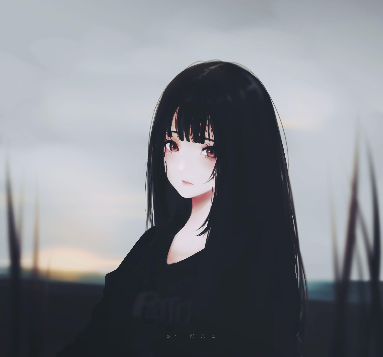 Pixiv Id 10/#10 - Zerochan  Anime art girl, Dark anime