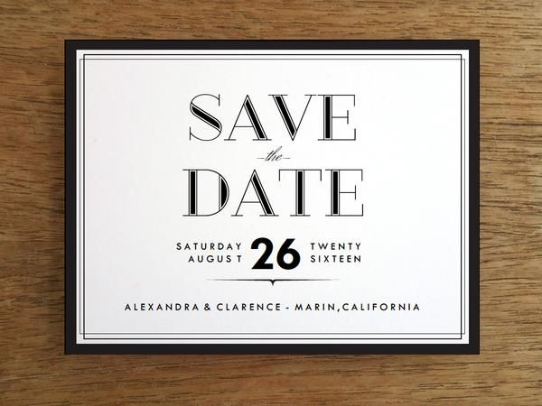 Free Save The Date Templates  S Style And Free