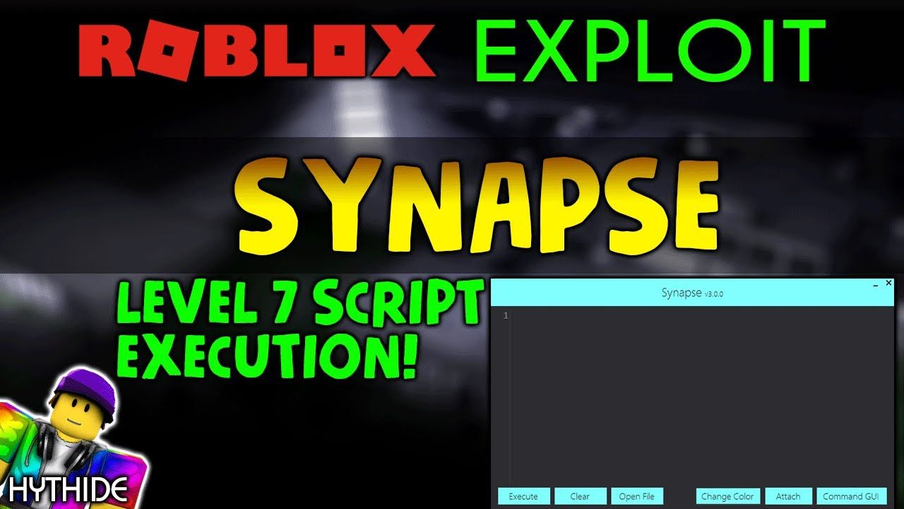 PAID ] ROBLOX Exploit & Hack: SYNAPSE |20$| | LEVEL 7 SCRIPT