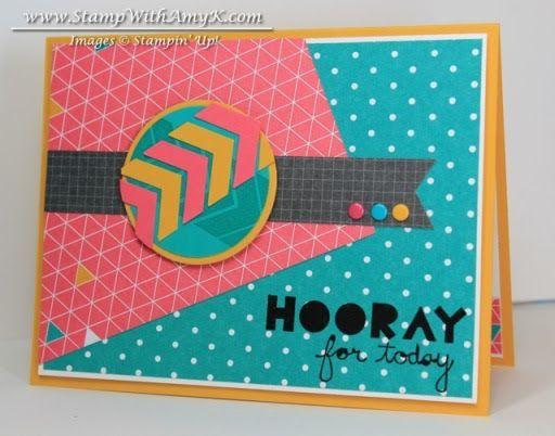Geometrical 2 - Stamp With Amy K