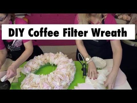 Photo of How to Make a Coffee Filter Wreath for $ 5 – DIY Dollar Tree Coffee Filter Wreath …