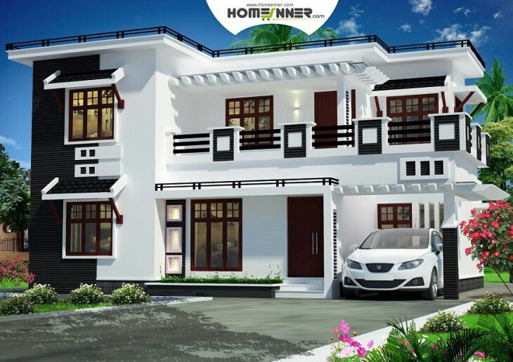 Pin by Nasser on Front Elevation   Indian home design ...