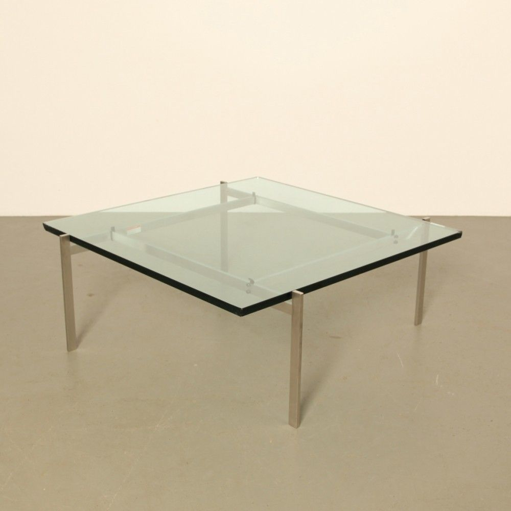 Coffee table PK61 by Poul Kjaerholm made by Fritz Hansen
