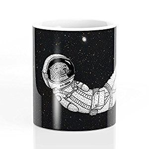 Amazon.com: Society6 André Floating Around In Otter Space ...